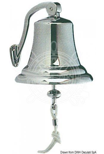 Type-approved chromed brass bell