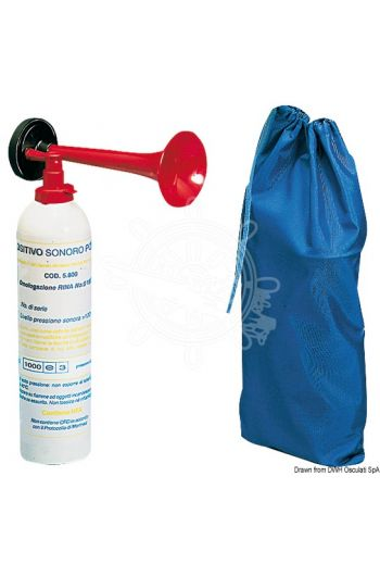 Portable gas trumpet (Description: Type approved RINA for pleasure boats up to 50 metres. Replace bell types: 21.532.00, 21.533.00 o)