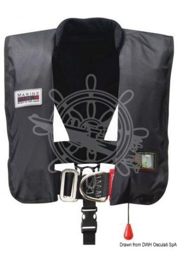 Premium self-inflatable lifejacket - 300 N (EN ISO 12402-2) (Activation: HAMMAR automatic, Colour: Blue, Spare bottle (60 g) + HAMMAR MA1 valve: 22.393.01)