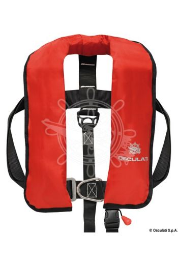 SAIL self-inflatable lifejacket - 165 N (EN ISO 12402-3) (Activation: Automatic, Colour: Red, Bottle + spare valve: 22.398.14)