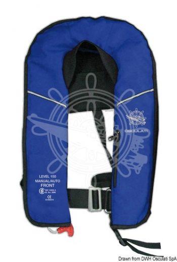 EXP self-inflatable lifejacket - 150 N (EN ISO 12402-3)