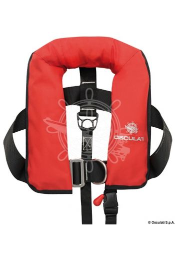 Baby self-inflatable lifejacket - 150 N (EN ISO 12402-3) (Activation: Automatic, Colour: Red, Bottle + spare valve: 22.399.15)
