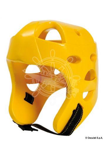 Floating helmet made of soft foam