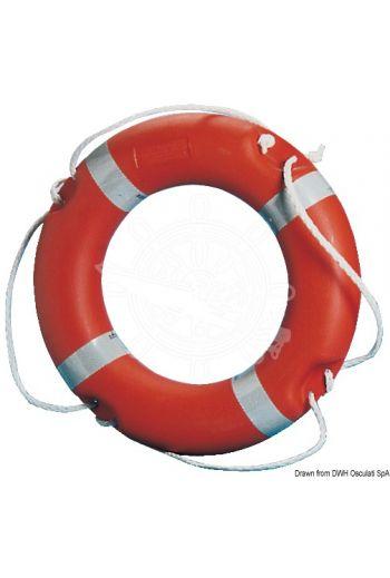 MED-approved ring lifebuoy (Ø cm: 35x60, OPTIONAL cover: 22.406.98; 22.406.99)