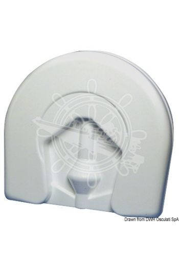 Horseshoe lifebuoy supplied with accessories conforming to Ministerial Decree 385/99