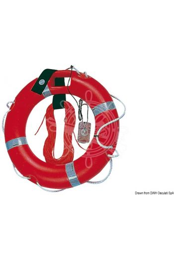 Ring lifebuoy with accessories