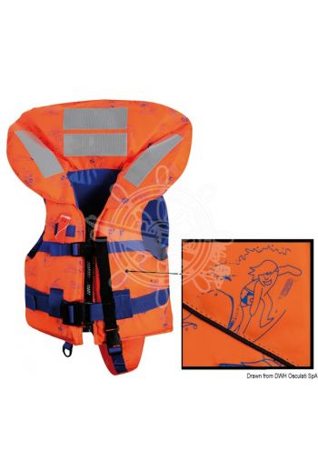 SV-150 lifejacket - 150N (EN ISO 12402-3). Top Quality model.