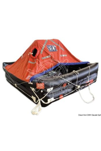 Deep-Sea Compact professional self-inflatable liferaft - Solas MED