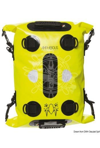 AMPHIBIOUS Two Open Tube backpack