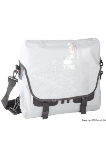 AMPHIBIOUS Zenith waterproof shoulder bag (Capacity: 10 l, Colour: Grey, Drops: 3, Measures: 36x36x12, Weight in g: 750)