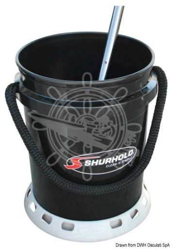 SHURHOLD bucket + base + accessories