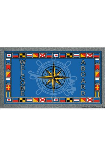 Format antiskid rectangular doormat, 50x80 cm