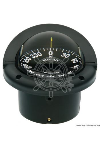 RITCHIE Helmsman 3'' 3/4 (94 mm) compasses with compensators and night lighting