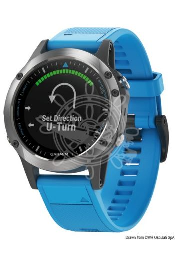 GARMIN Quatix 5 multifunction GPS watch (Description: Quatix 5, Battery life: 16 hours in GPS mode, 2 weeks in sensor mode, 6 weeks in watch mode., Wei)