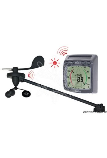 TACKTICK wireless instruments (Description: T101 wind system, Package content: Wind analogic display and masthead transducer with mounting ba)