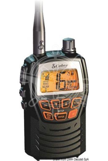 Cobra MR HH125 EU VHF (Measures: 102x62x31 mm, Weight in g: 141 senza batterie)