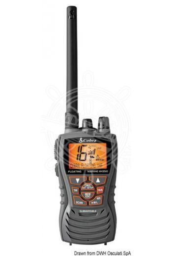 Cobra Marine VHF MR HH 350 (Measures: 121x67x53 mm, Weight in g: 272)