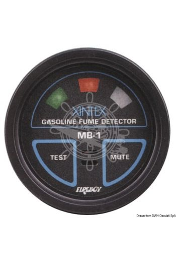 Petrol gas detector MB-1, fitted with 1 sensor