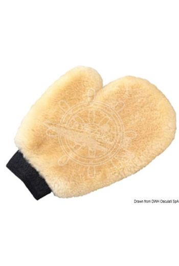 SHURHOLD Wash Mitts (Description: Made of lambwool. Top quality. Excellent for washing and cleaning, either dry or wet.)