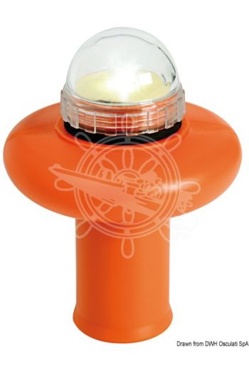 Starled floating rescue light (Batteries: 4 x AA, Approval: MED 288210CS, Use: Pleasure + merchant navy, Measures: 145x105)