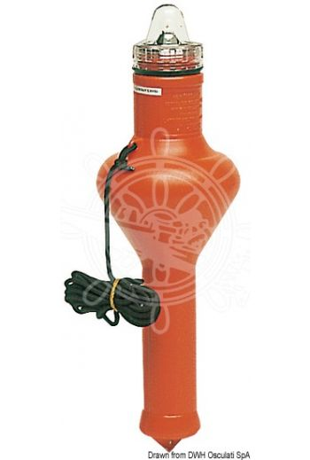 STAR 1 floating rescue light with automatic tilt switching