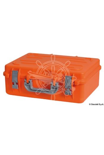 Multipurpose watertight case (Colour: Orange, Measures: 470x370x180)