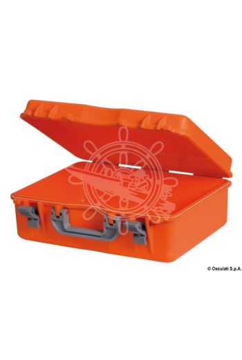 Empty first aid kit watertight case, Table D (Measures: 470x370x180)