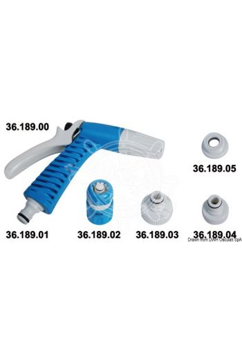 Boat washing spray hose and accessories