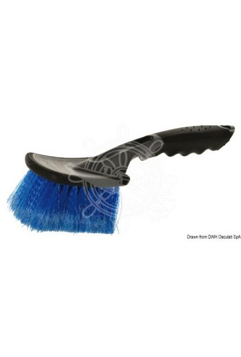 YACHTICON soft fibre brush with handle