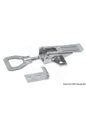 Locking with adjustable stainless steel lever (Max working load kg: 110, Max tension load kg: 250)