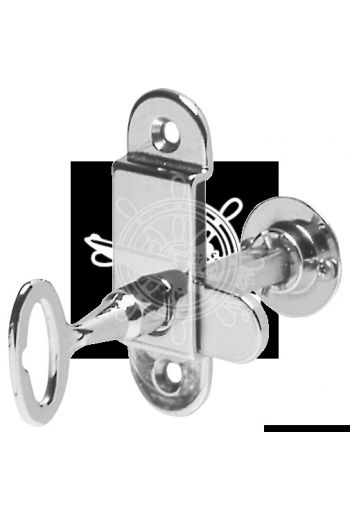 Hollow tile lock (Hole part mm: 80x25, Frame mm: 7x60, Ring Ø mm: 30)