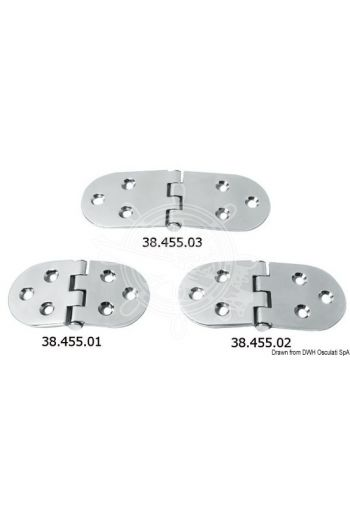 Hinges 3 mm; HEAVY DUTY
