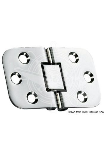 Hinges 2 mm foldable