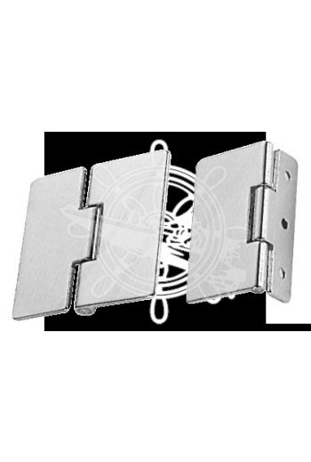 Hinge (Measures: 65x55, Wings: unequal, for fixing onto the rope on the stop, Opening: 190°)