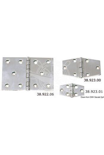Precision-cast hinges