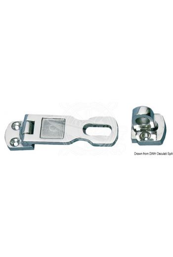 Drop-down Hasp & Staple (Measures: 75x26 (without end), 90x26 (with end))