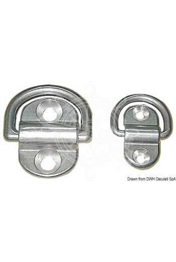 Swivelling half-rings