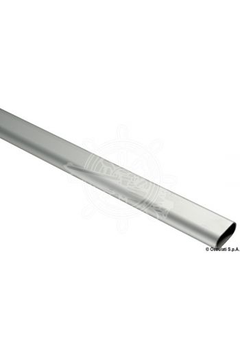 Oval pipe (Measures: 40x20, Sold in bars: 2 metres, For fitting into handrail model: 41.608.00; 41.609.00)