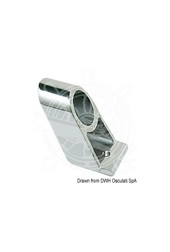 Handrail central bracket (Height mm: 38, For pipe Ø mm: 22)