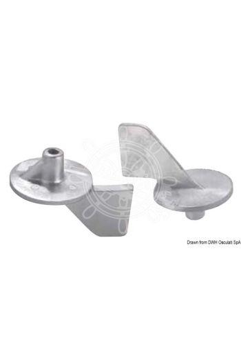 Universal fin anode on round plate (Original ref.: 2500050)