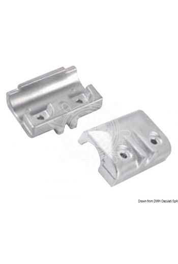 Anode for 40/50 HP 4-stroke outboard engines.