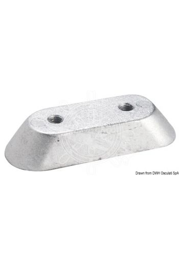 Anode plate for 8/20 HP