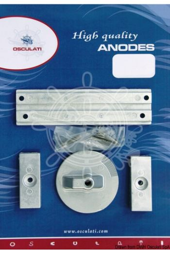 Anode kit for Mercury
