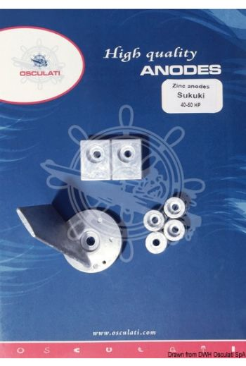 Anode kit for Suzuki