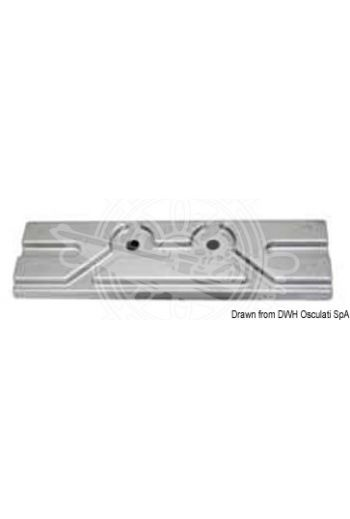 Plate anode for outboards up to 150 HP, 4 strokes