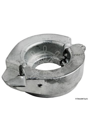 Two-piece anode for sail drive, 107-mm Ø collar
