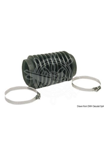 Transmission bellows and coupling sleeve for Volvo