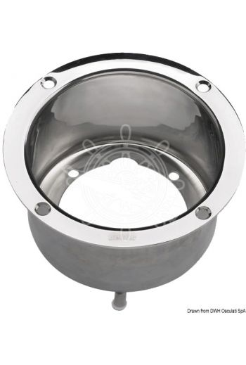 Stainless steel flange (HTPF2) for VETUS steering systems