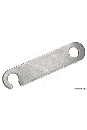 Turnbuckle for awning ropes (Measures: 55x12)
