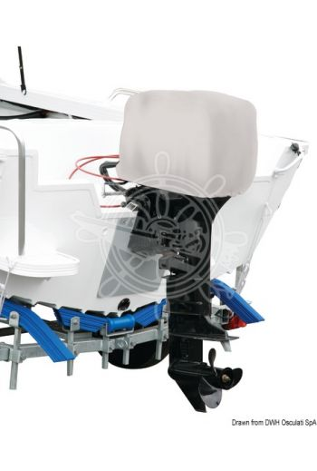 OCEANSOUTH Top Quality cover for 2/4-stroke outboard engine - Engine head